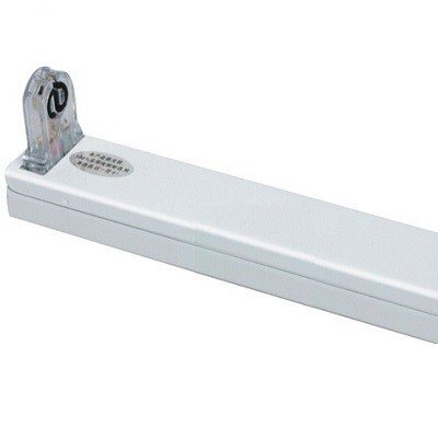 LED Röhrenhalterung mit Fassungen für eine 60 cm LED-Röhre T8 - G13