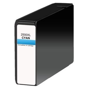Druckerpatrone wie Canon PGI-2500 XL Cyan, 9265B001