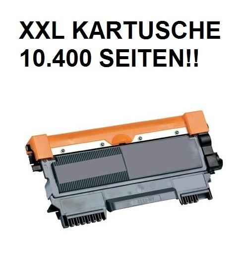 Tonerkartusche wie Brother TN-2220 XXL schwarz - 4-fache Kapazität! 10.400 Seiten