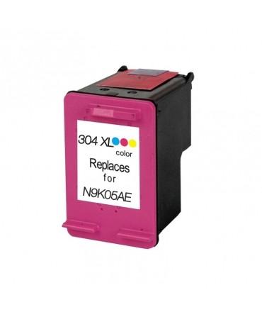 Refill Druckerpatrone HP 304 XL color, dreifarbig - N9K07AE, N9K05AE