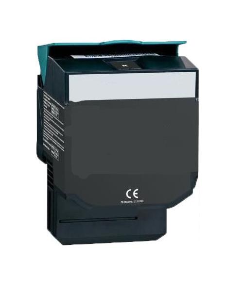Tonerkartusche für Lexmark C540, C543, C544, C546, X543, X544 Black, Schwarz C540H1KG, C540H2KG