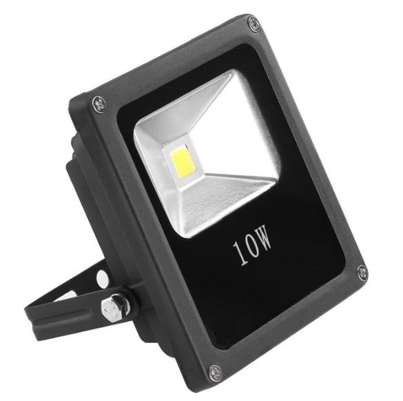 10 Watt LED Außenstrahler - Flutlicht - entspricht 75 Watt Halogenstrahler