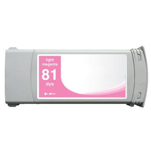 Refill Druckerpatrone HP 81 light-magenta C4935A