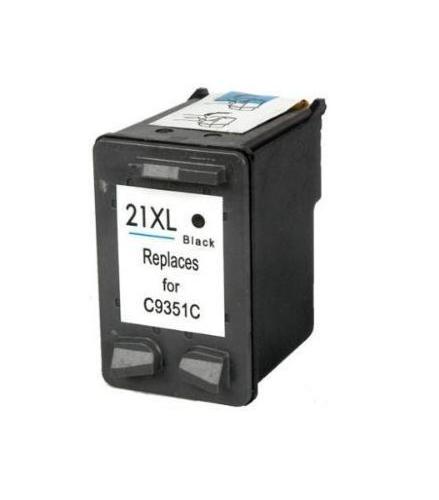 Refill Druckerpatrone HP 21 XL schwarz, black - C9351CE, C9351AE