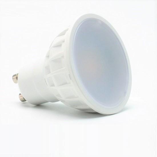 5 Watt LED-Spot GU10 Weiß, Lichtfarbe Kaltweiß 6000 K - 120° Ausstrahlung