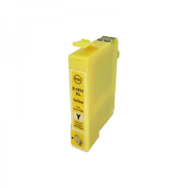 Druckerpatrone wie Epson T1814, T18 XL yellow