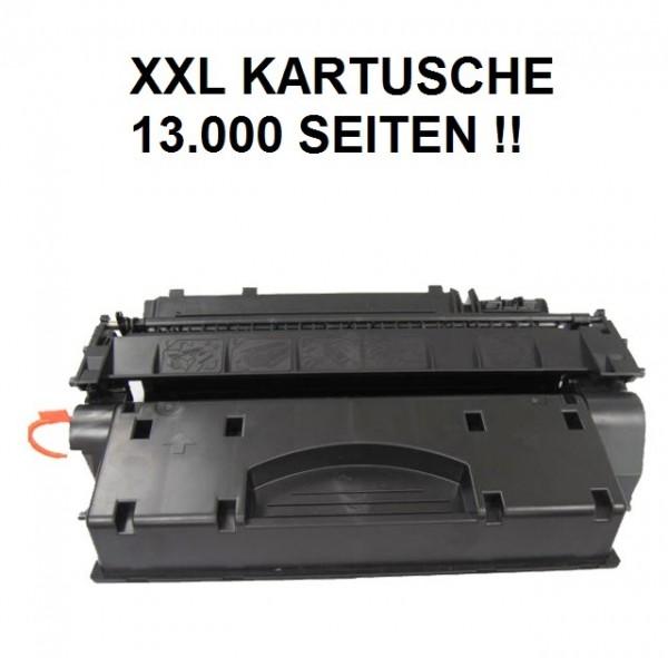 XXL Tonerkartusche wie HP CE505X, 05X, Canon Cartridge CRG 719 H XXL black, schwarz - 13.000 Seiten