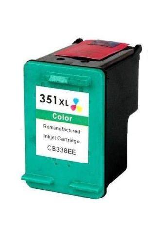 Refill Druckerpatrone HP 351 XL color, dreifarbig - CB338EE, CB337EE