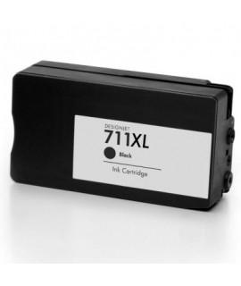Druckerpatrone wie HP 711 schwarz, black (XL) - CZ129A, CZ133A