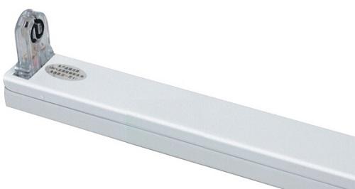 led r hrenhalter led leuchten t8 g13 f r energiesparende led r hren mit fassung t8 g13. Black Bedroom Furniture Sets. Home Design Ideas