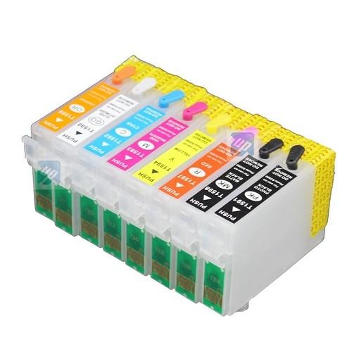 Wiederbefüllbare QUICKFILL-FILL-IN Patronen wie Epson T1590-T1599 für Epson Stylus Photo R2000