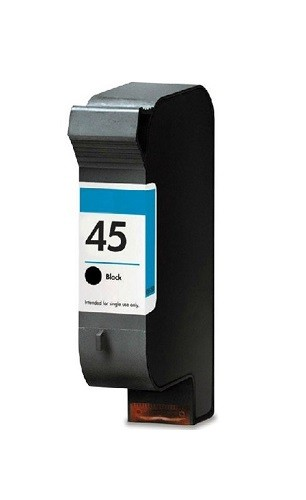 Refill Druckerpatrone HP 45 schwarz, black - 51645AE