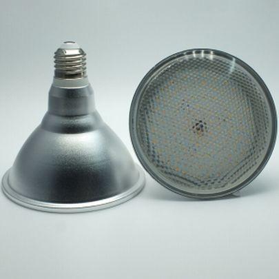 18 Watt PAR 38 LED Lampe E27 - Lichtfarbe warmweiß 2700 K - 120° Ausstrahlung