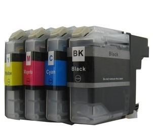 Druckerpatronen Set wie Brother LC-223 black, cyan, magenta, yellow