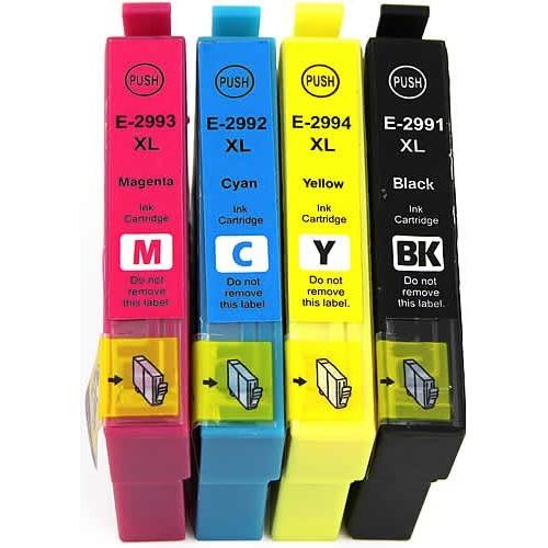 Druckerpatronen Set wie Epson T2991, T2992, T2993, T2994, T29 XL, T2996