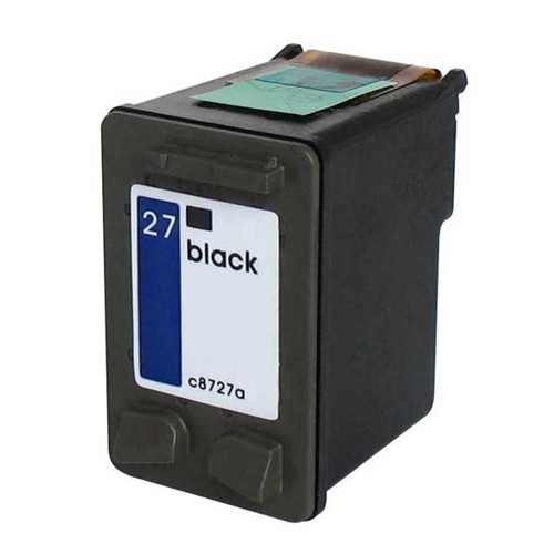 Refill Druckerpatrone HP 27 XL schwarz, black - C8727AE