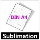 100 Blatt Sublimationspapier DIN A4