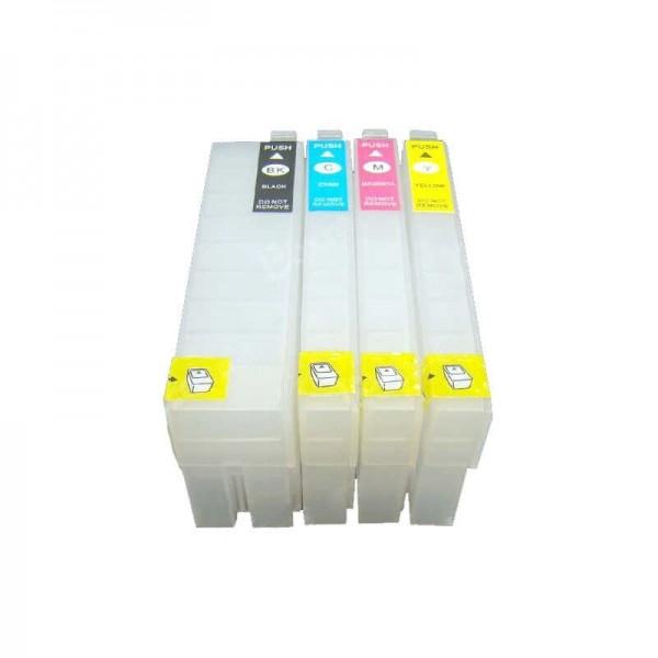 Wiederbefüllbare Tintenpatronen wie Epson T3591-T3594, T35 XL mit Auto Reset Chips