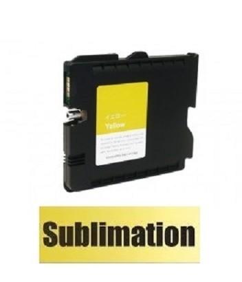 Druckerpatrone wie Ricoh GC-41 XL yellow, 405764, 405768 mit SUBLIMATIONSTINTE