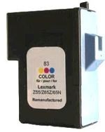Refill Druckerpatrone Lexmark 83 color, dreifarbig - 18L0042 (HC)