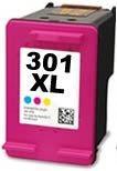 Refill Druckerpatrone HP 301 XL color, dreifarbig - CH564EE, CH562EE