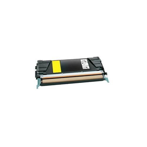 Tonerkartusche für Lexmark C522, 524, 530, 532, 534 Yellow C5220YS, C5222YS, C522RYS