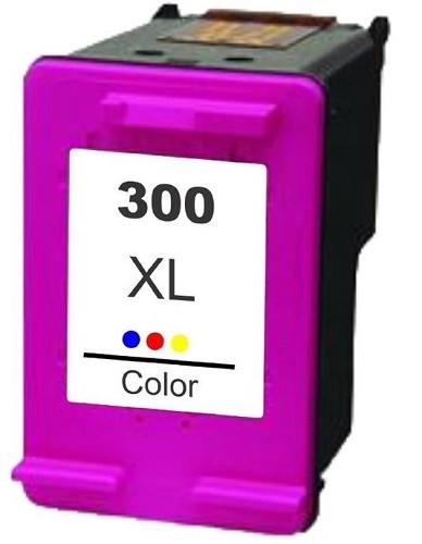 Refill Druckerpatrone HP 300 XL color, dreifarbig - CC644EE, CC643EE