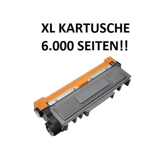 XL Tonerkartusche wie Brother TN-2420 schwarz - doppelte Kapazität für 6.000 Seiten