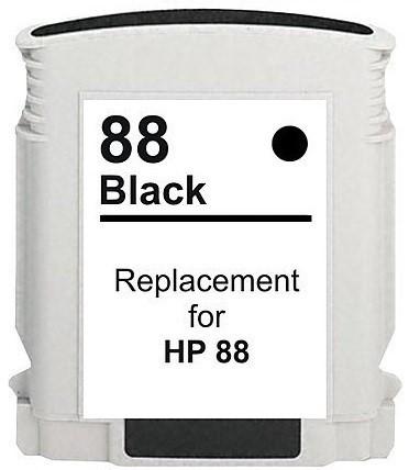 Druckerpatrone wie HP 88 XL schwarz, black, C9385AE und C9396AE