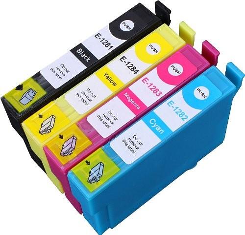 Druckerpatronen Set wie Epson T1285 XL - T1281, T1282, T1283, T1284