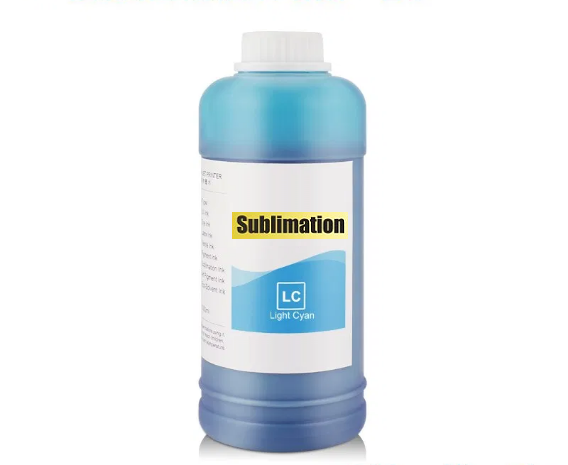 500 ml Dye Sublimationstinte photo-cyan - für Epson, Mutoh, Mimaki, Roland...