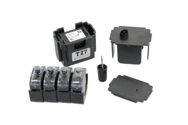 Easy Refill Befülladapter + Nachfüllset für HP 21 black (XL) Patronen HP C9351CE, C9351AE
