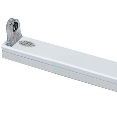 LED Röhrenhalterung mit Fassungen für eine 90 cm LED-Röhre T8 - G13
