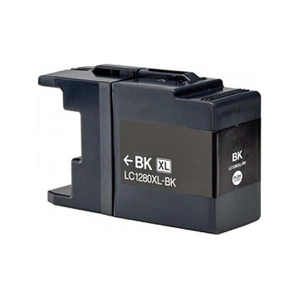 Druckerpatrone wie Brother LC-1280 XXL Black, Schwarz