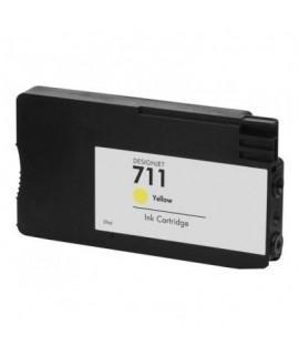 Druckerpatrone wie HP 711 yellow - CZ132A