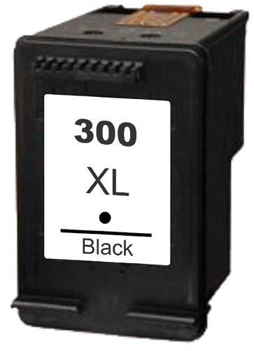 Refill Druckerpatrone HP 300 XL schwarz, black - CC641EE, CC640EE