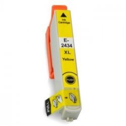 Druckerpatrone wie Epson T2424, T2434, T24 XL yellow