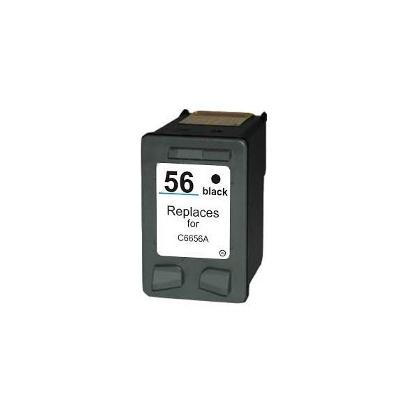 Refill Druckerpatrone HP 56 schwarz, black - C6656AE