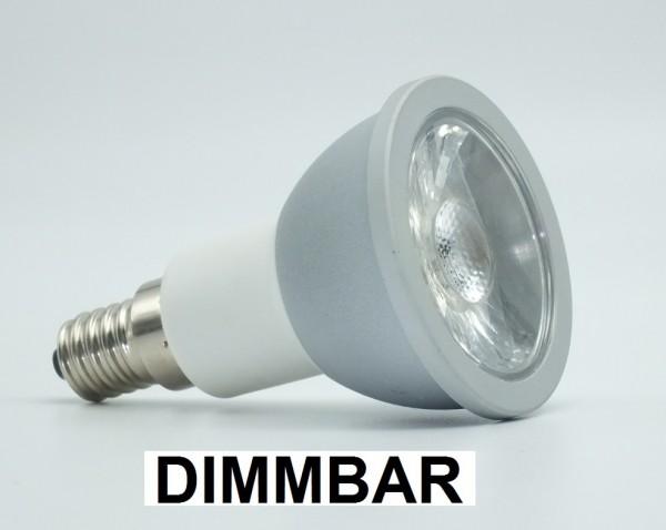 7 Watt LED-Spot, Alu, E14, Warmweiß 2700 K, dimmbar - 60 ...