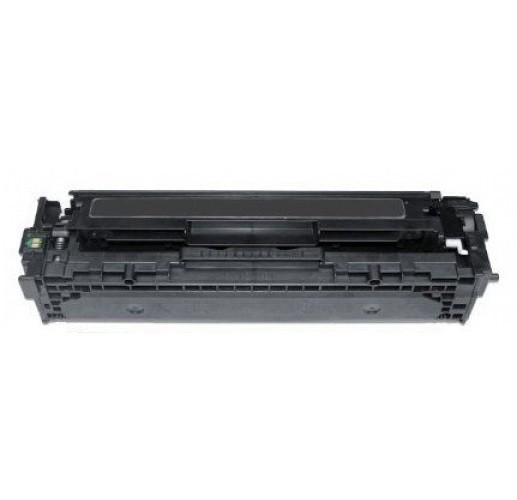 Tonerkartusche wie HP CF210X - 131X Black + Canon Cartridge CRG 731 Black, Schwarz
