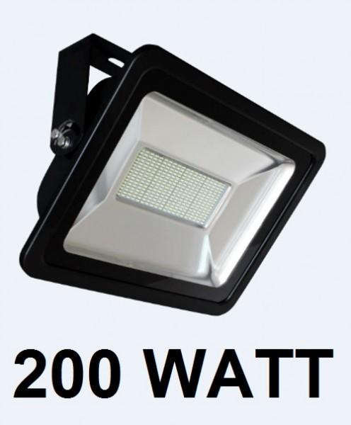 200 Watt LED Außenstrahler - Flutlicht - entspricht 1750 Watt Halogenstrahler
